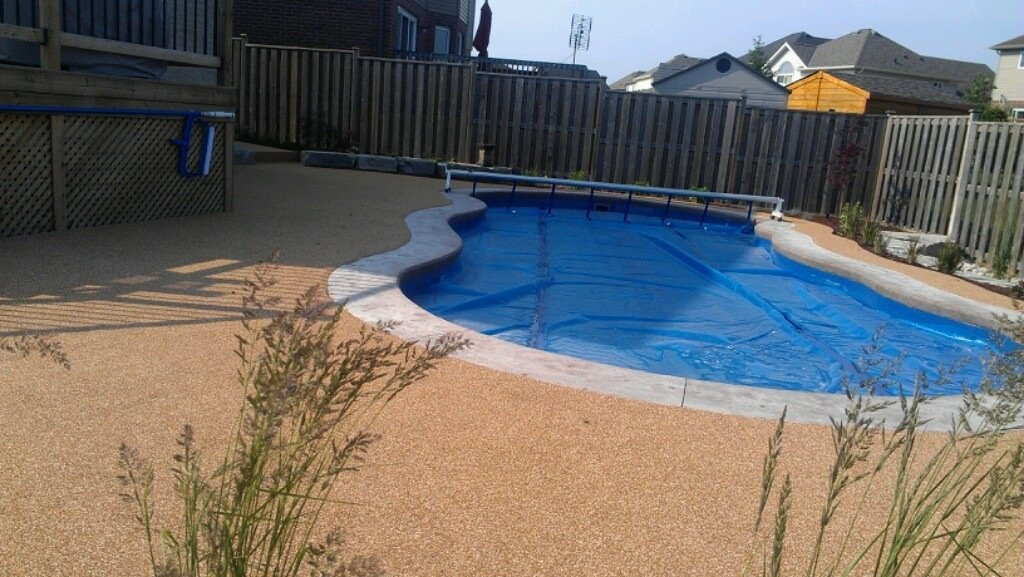 Pool Deck Concrete Repair