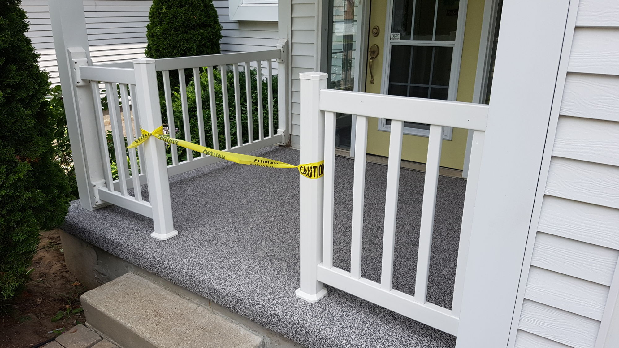 Porch Steps Resurfacing
