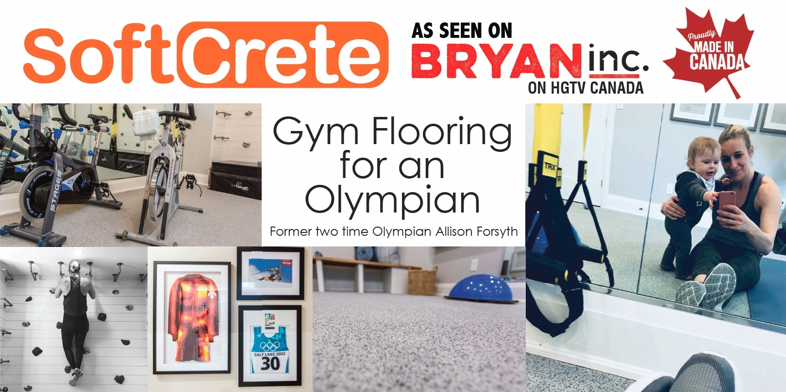 Gym Flooring fit for an Olympian